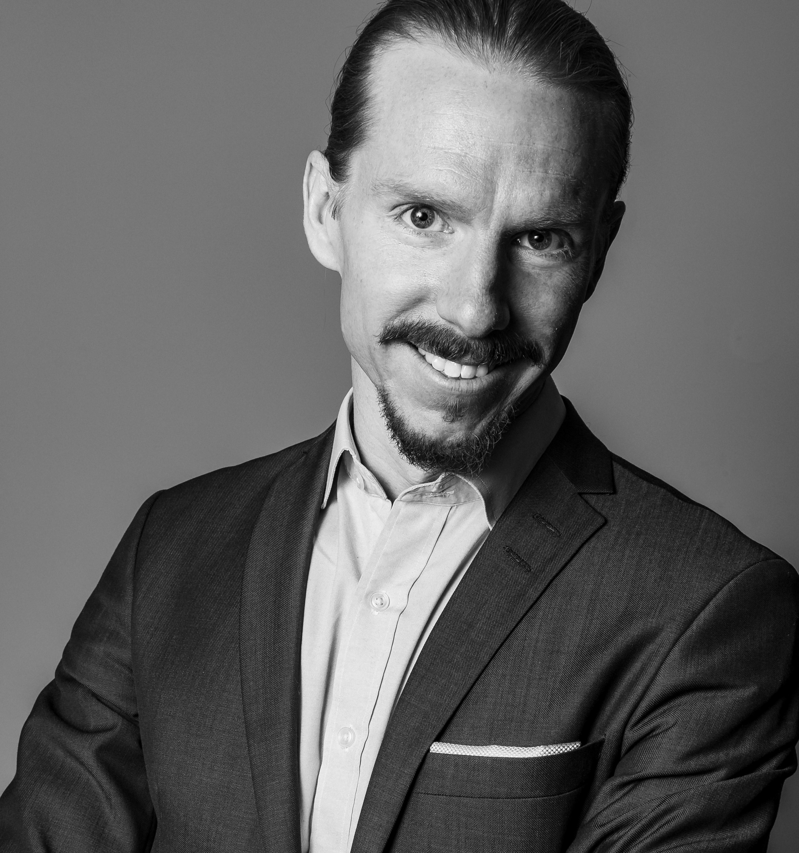 Porträttbild GTD-kursledare Pontus Axelsson